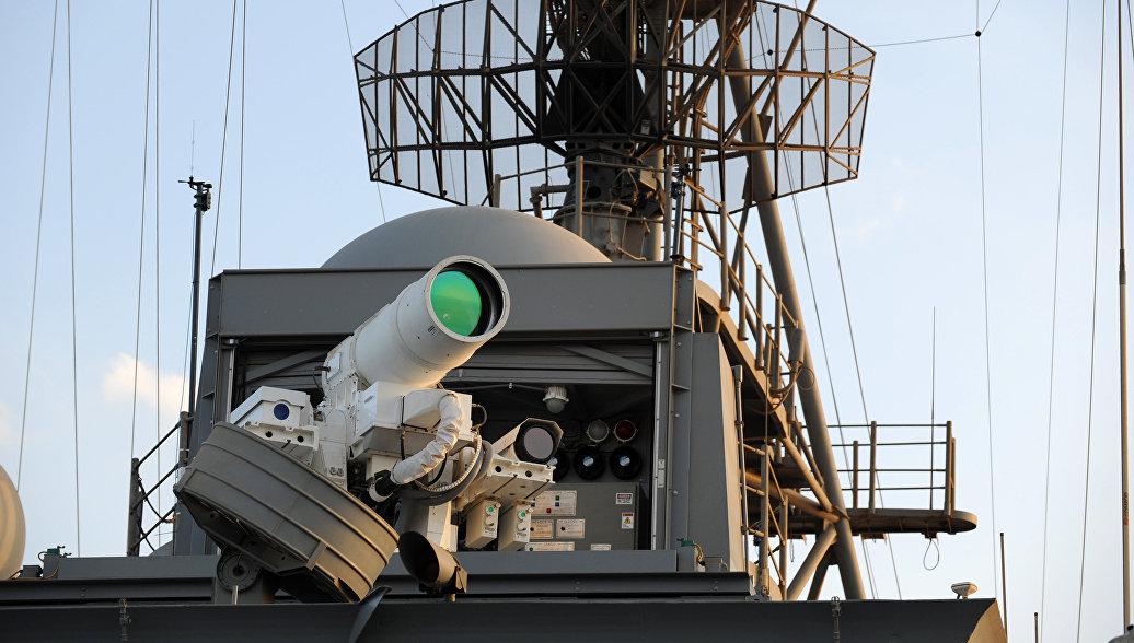 Американская лазерная установка
