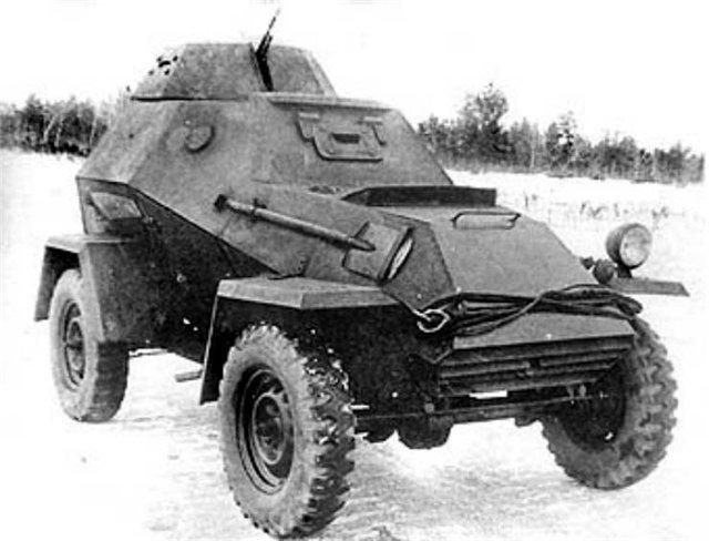 БА-64 зимой