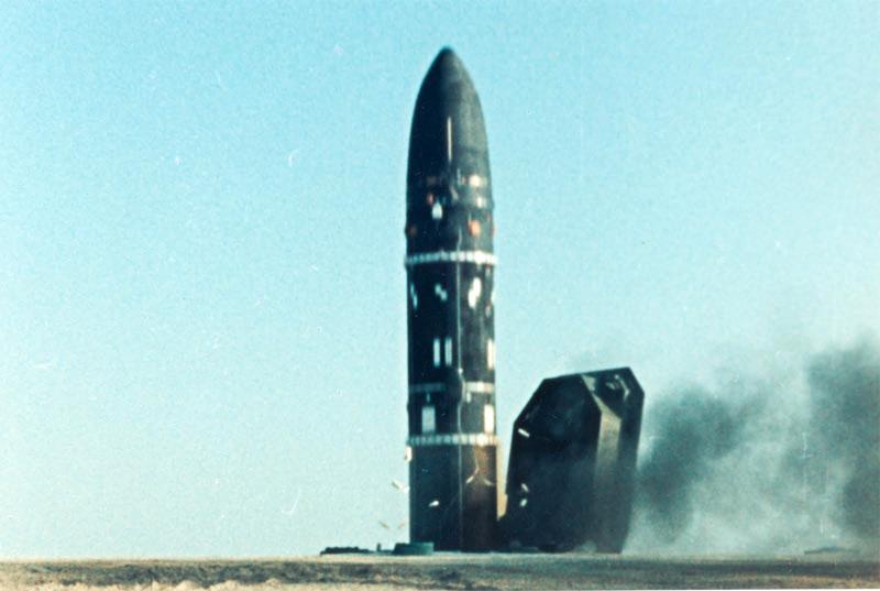 Баллистическая ракета SS-18 - Сатана»