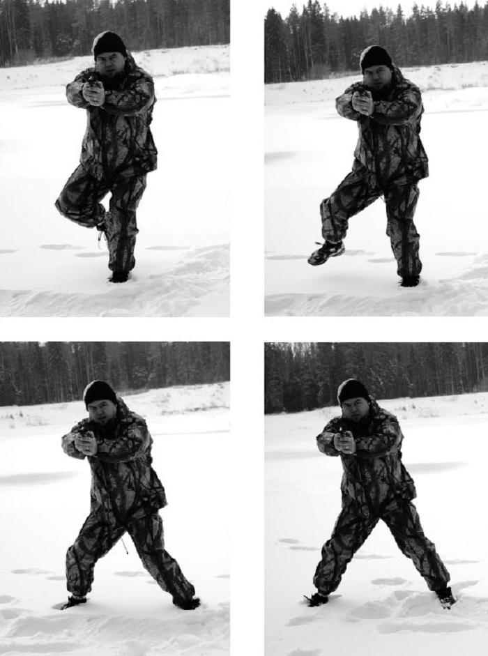 Боевая стрельба в движении