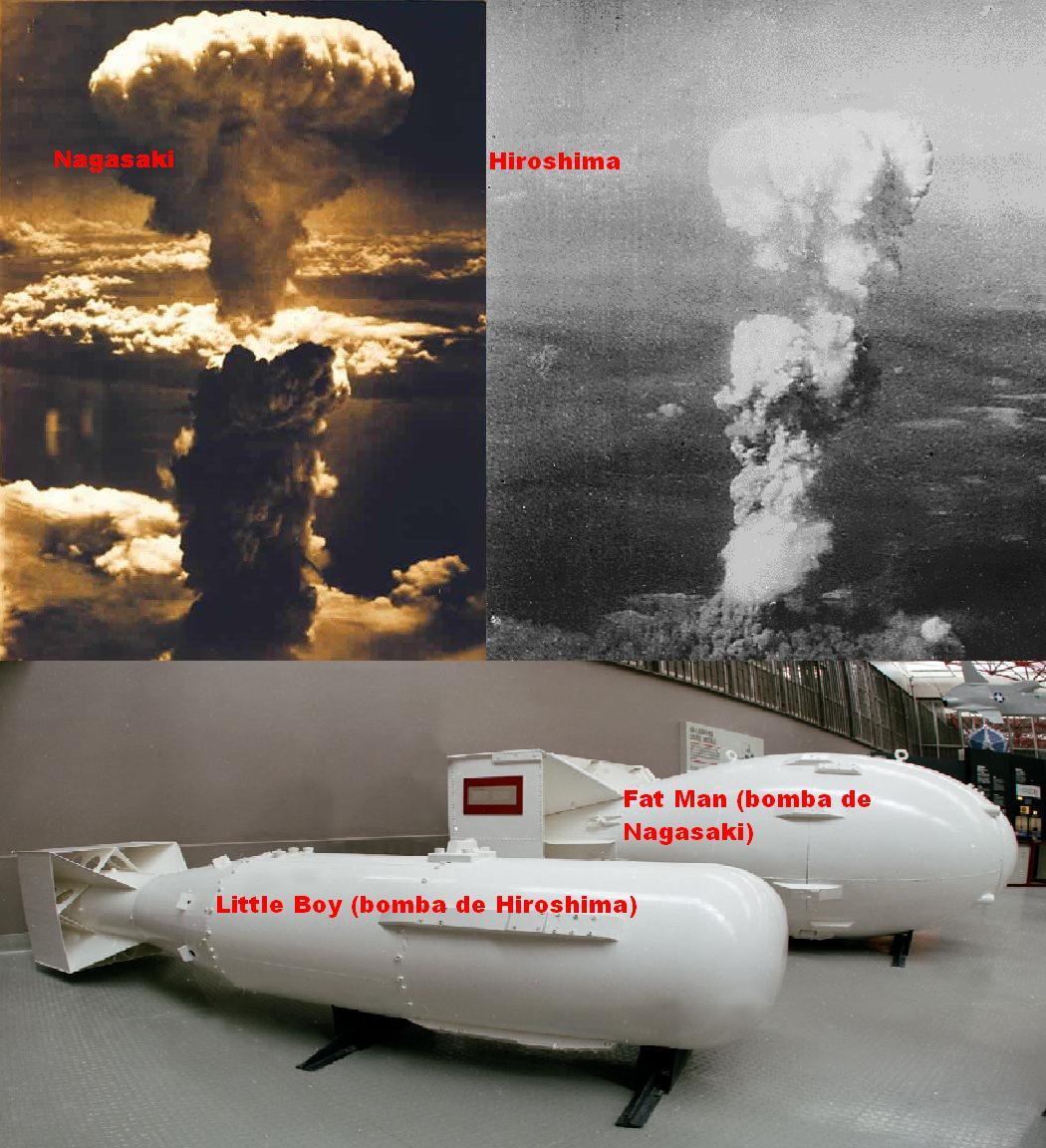Бомба для Хиросимы и для Нагасаки