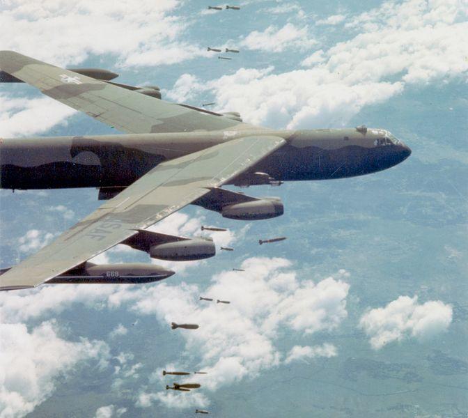 Бомбардировка Вьетнама