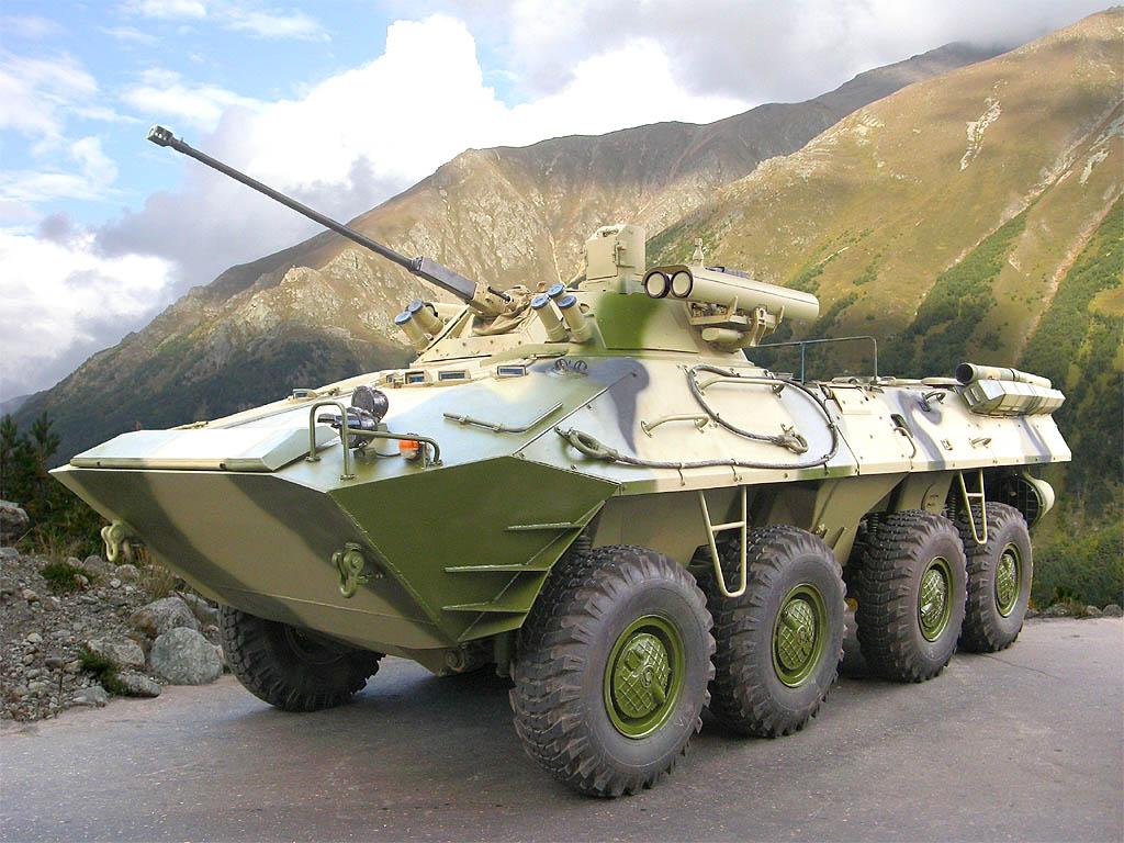 БТР-80 с пушкой