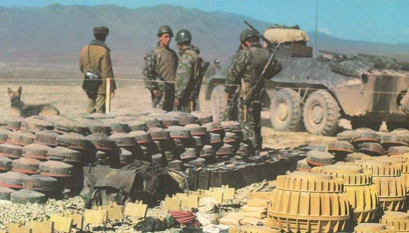 Десантники в Афгане