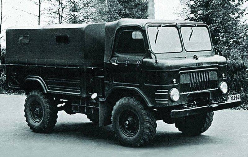 ГАЗ-62 - предшественник ГАЗ-66
