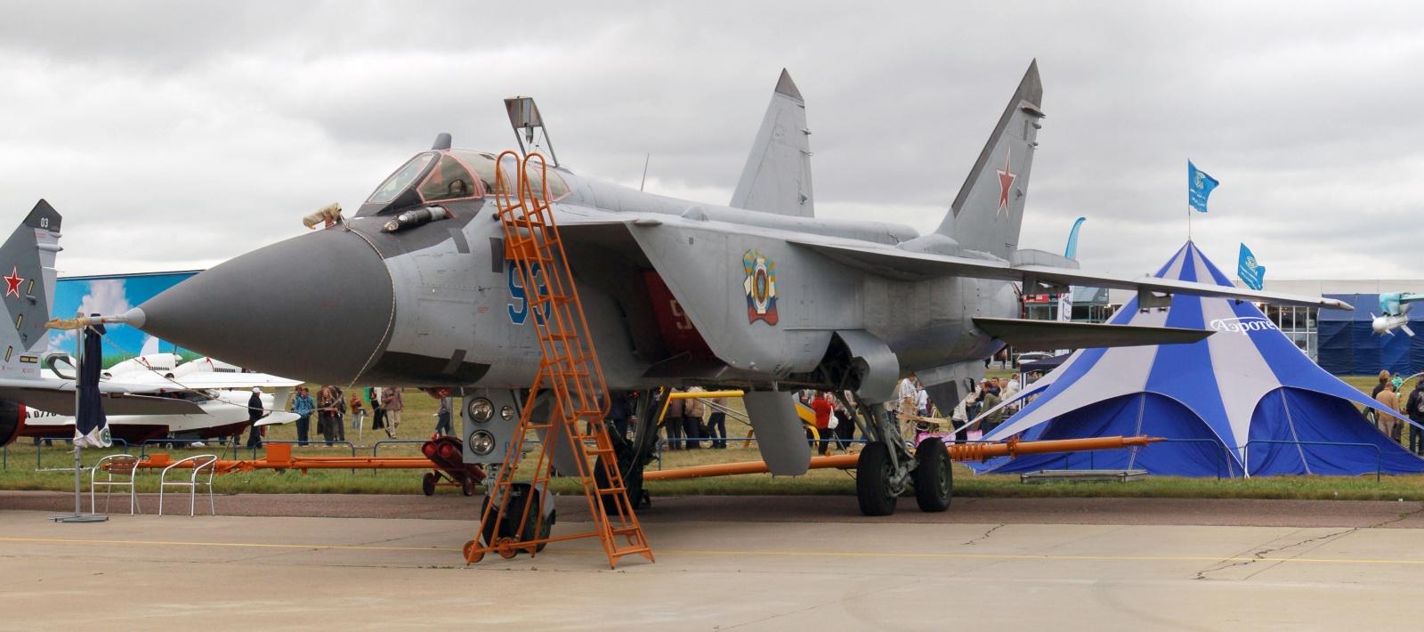 Истребитель МиГ-31БМ