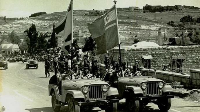Израильские войска в Иерусалиме