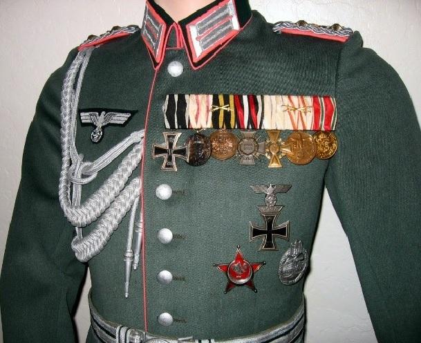 Как носились боевые награды