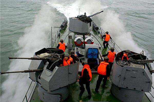 Корабль ВМФ КНДР