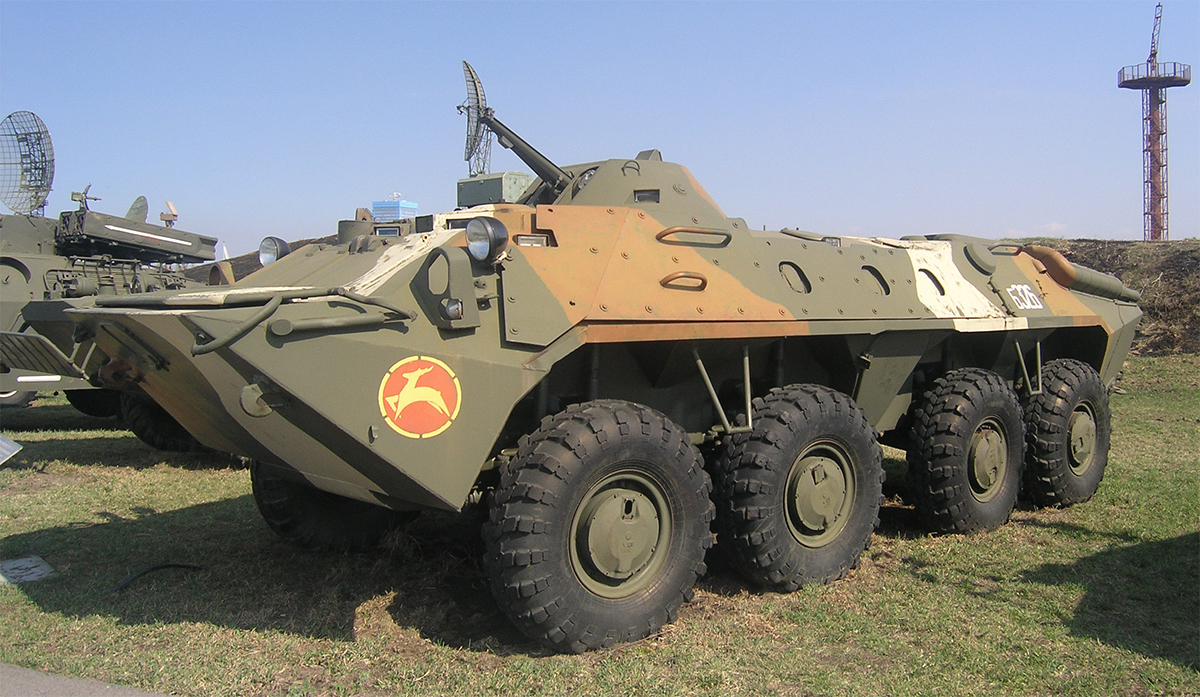 Модель БТР-70