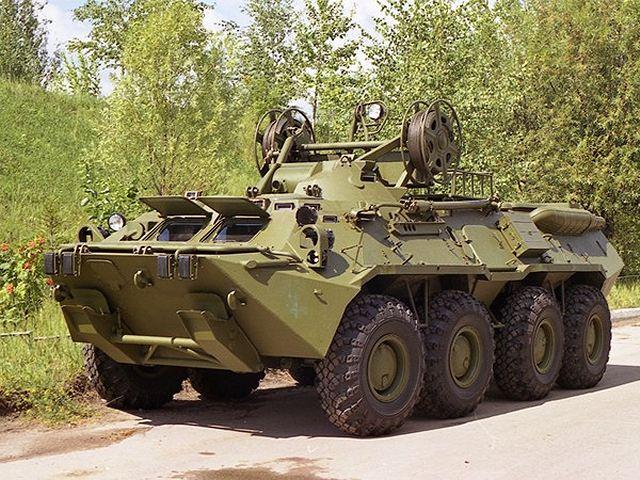 Модификация БТР-80