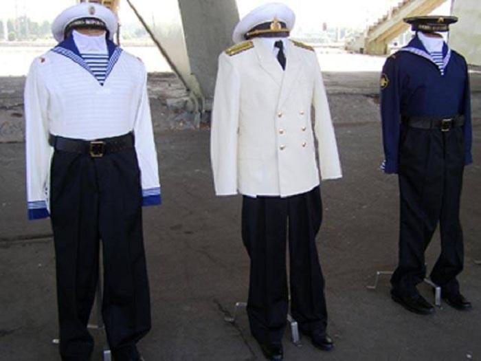 Новое парадное обмундирование ВМФ