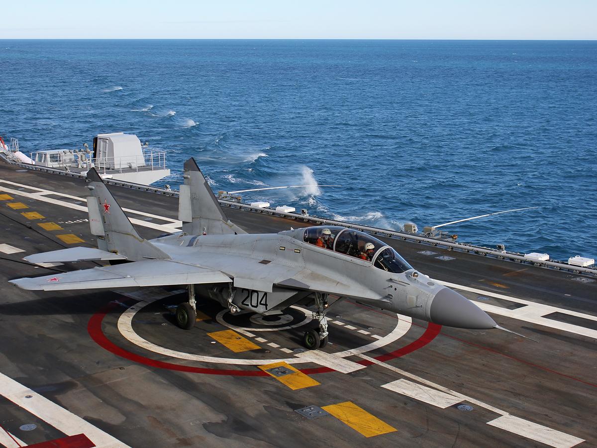 Палубная авиация РФ