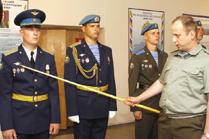 Парадная форма офицера спецназа ВДВ