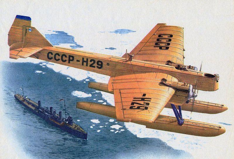 Первая Полярная авиация СССР