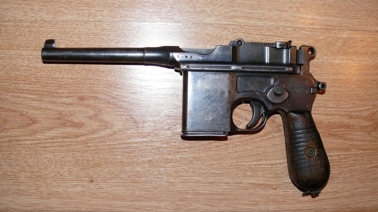 Пистолет пулемет Маузер 712
