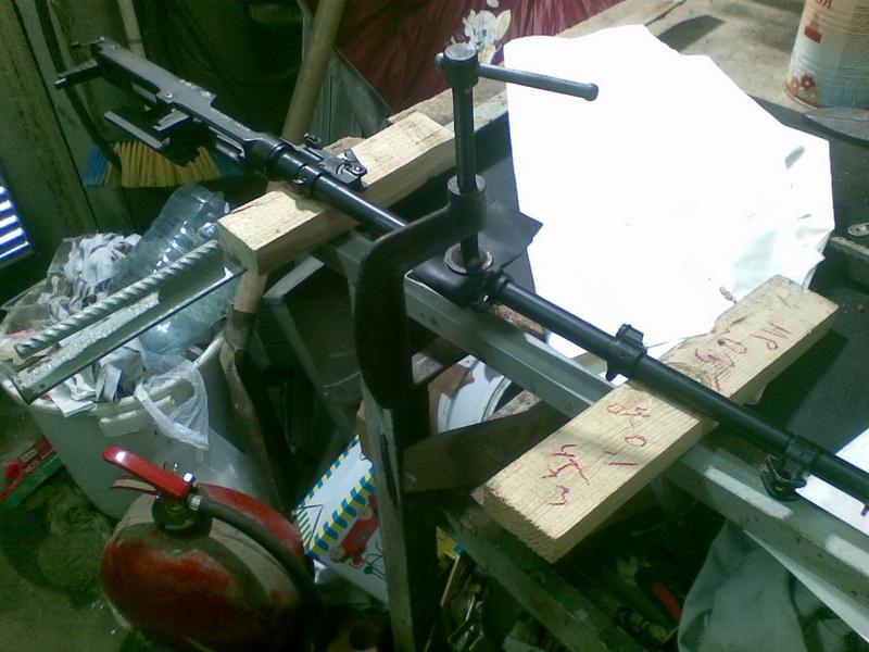 Принцип преднапряженного ствола в карабине Симонова