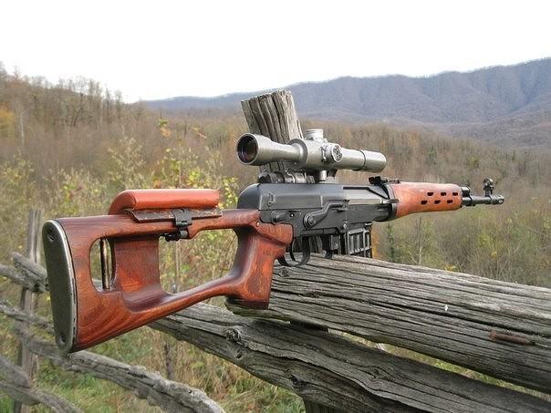 Пристрелка карабина