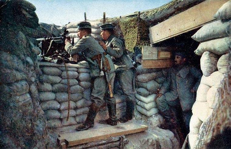 Пулемет в Первой мировой войне
