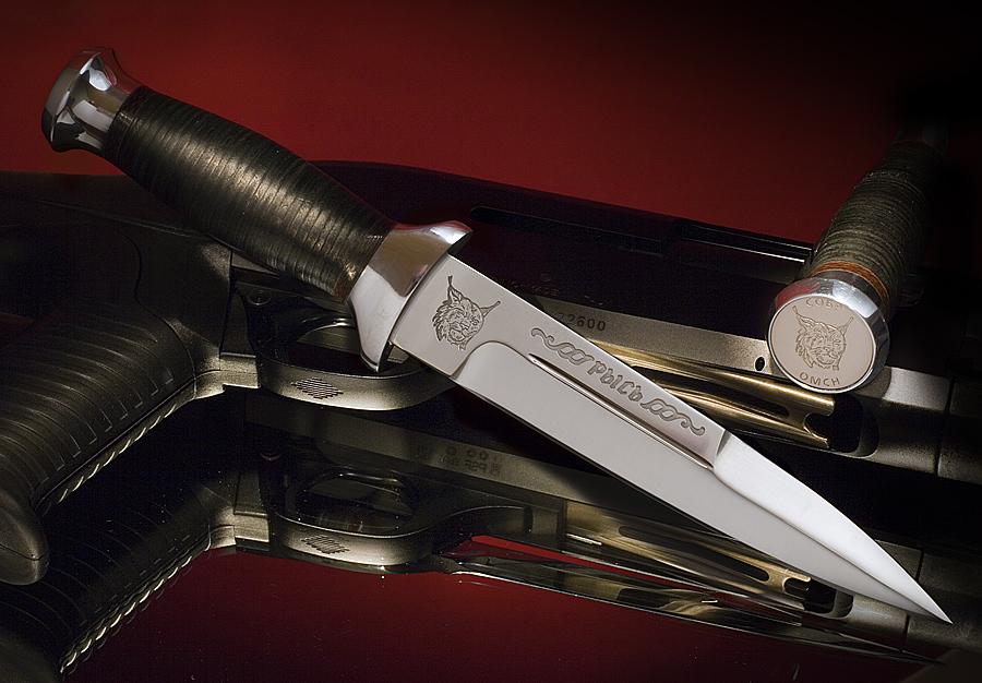 Российский нож Рысь