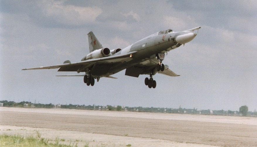 Самолет Ту-22Р