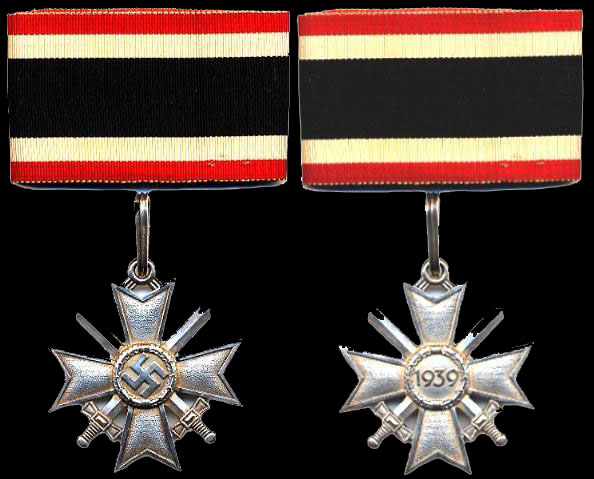 Серебреный рыцарский крест