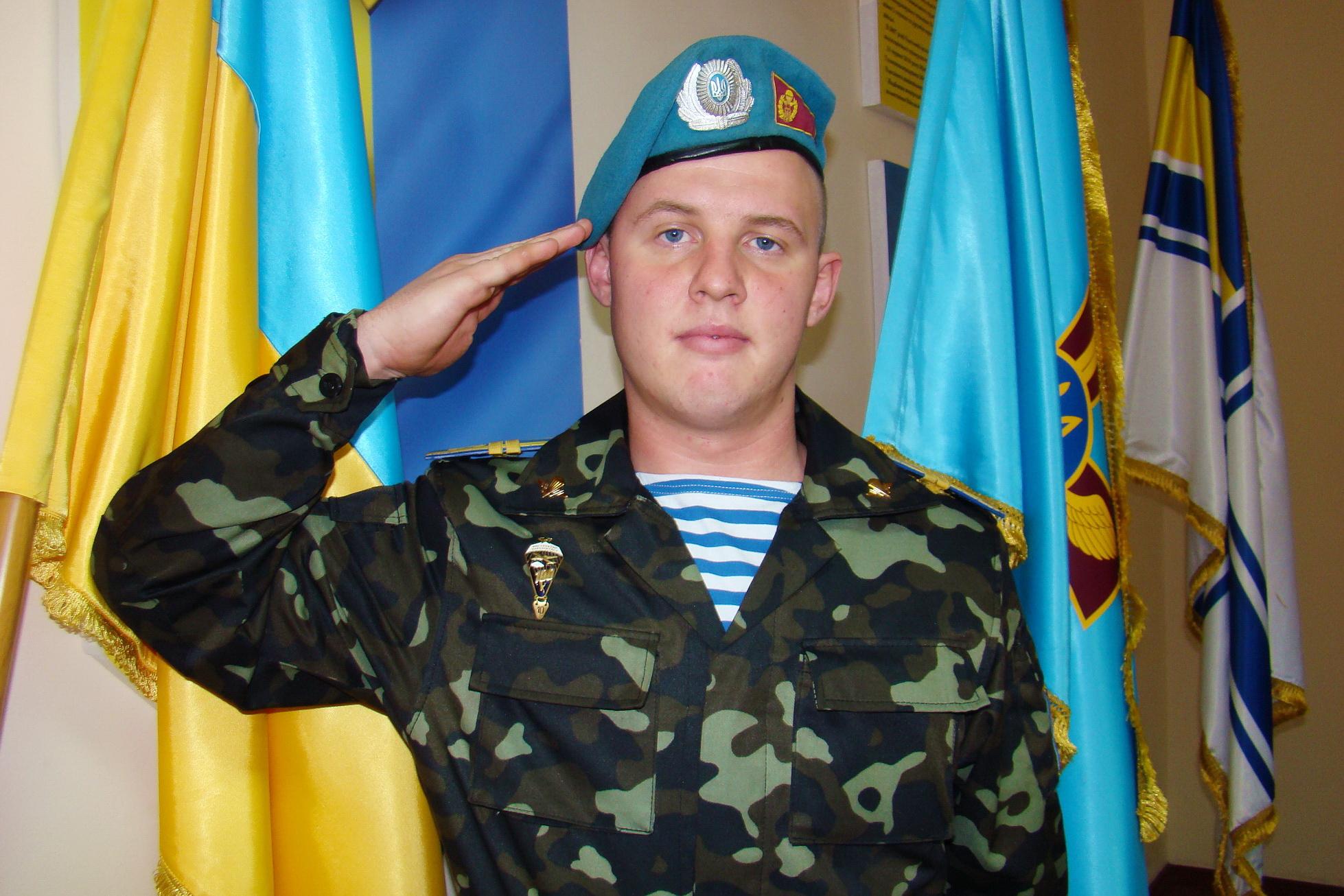 Сержант СпН ВДВ в повседневном костюме