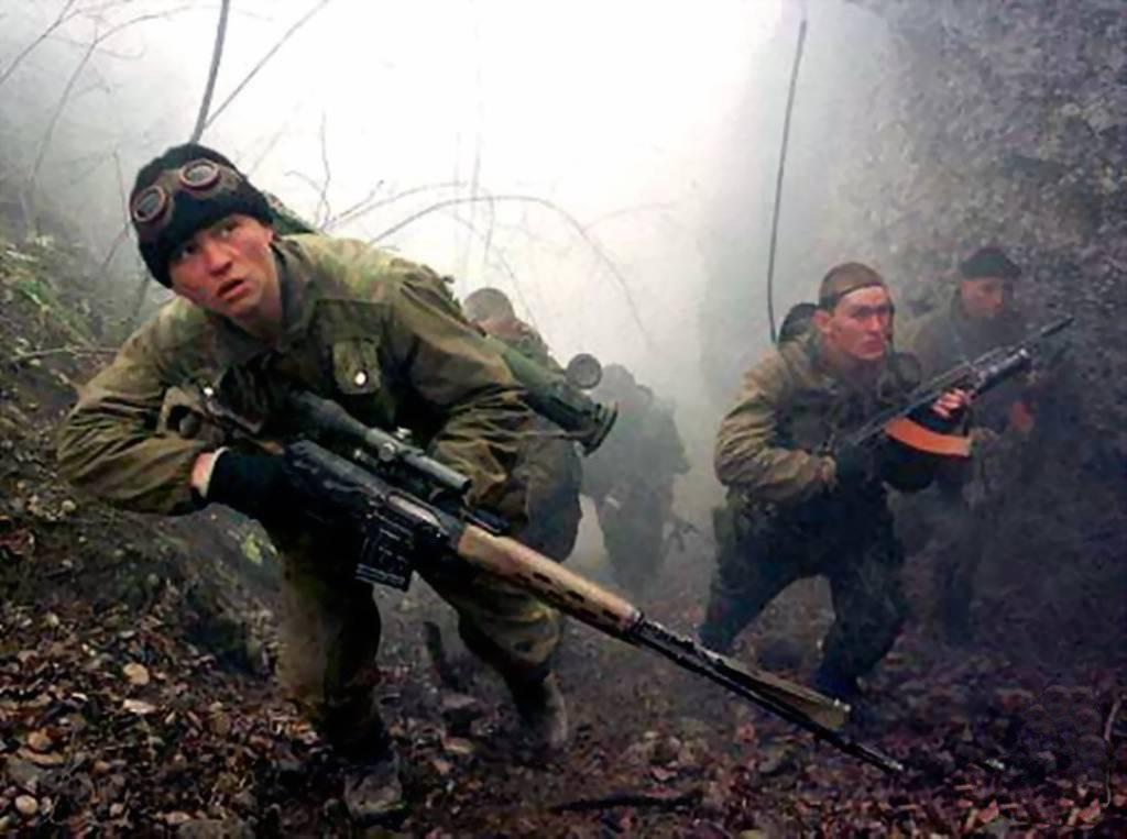 Спецназ ГРУ во время секретной операции