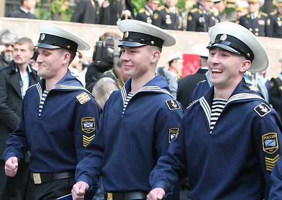 Спецназ ПДСС и МРП ГРУ использует парадную форму моряков