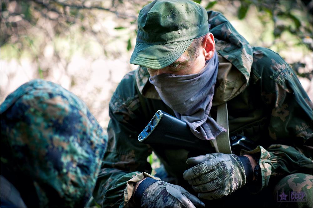Спецназовцы перед операцией