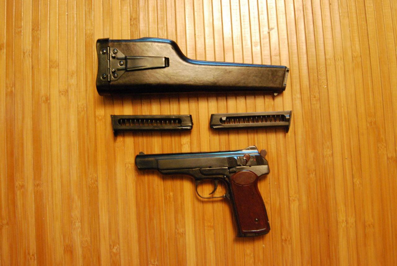 Травматическая реплика пистолета Стечкина МР-355