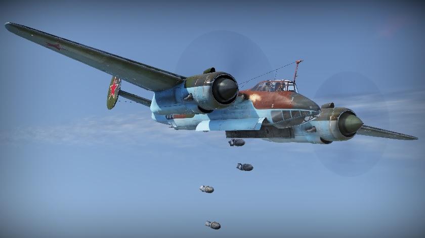Ту-2 в полете