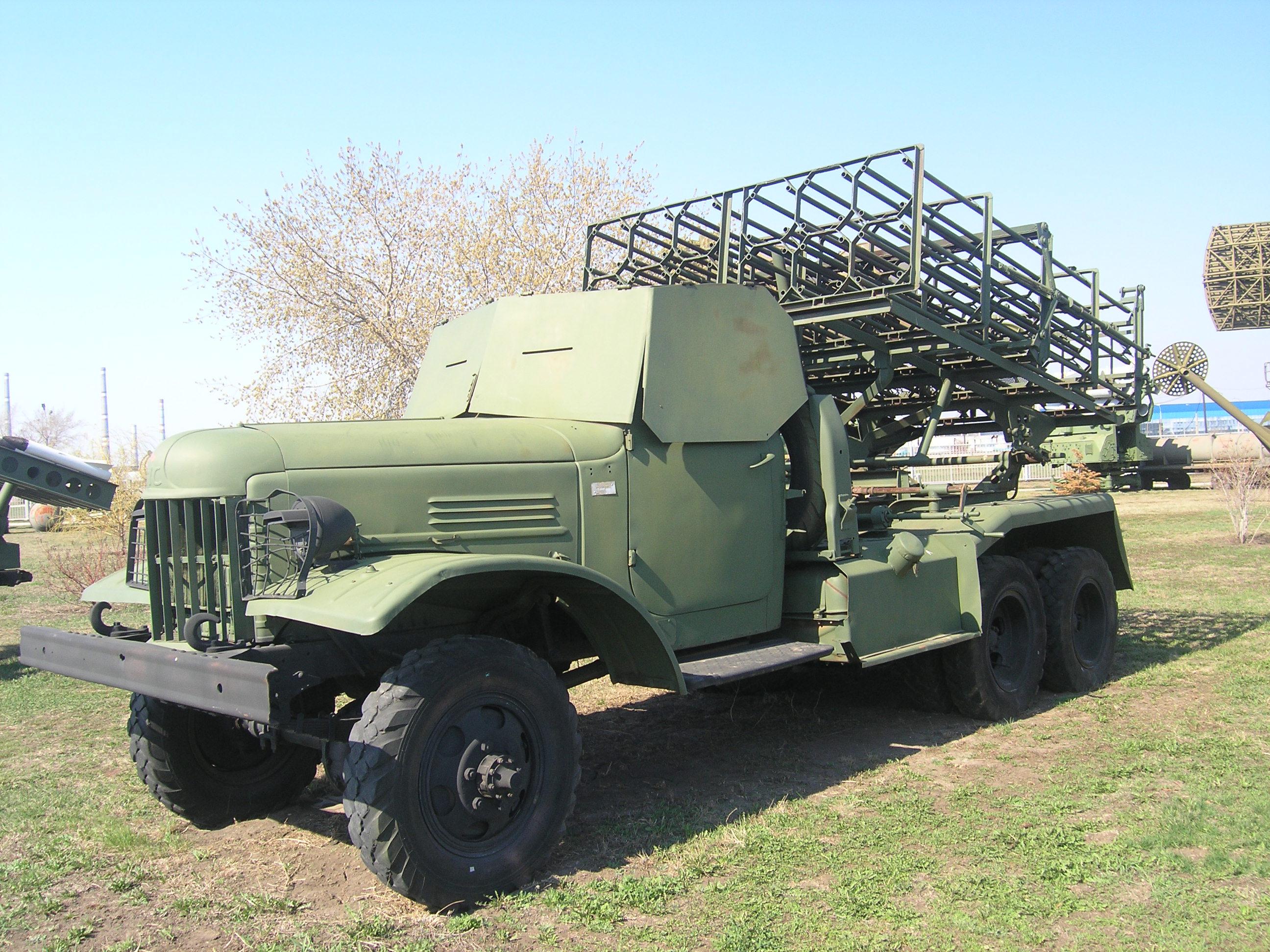 Установка БМ-31 Андрюша