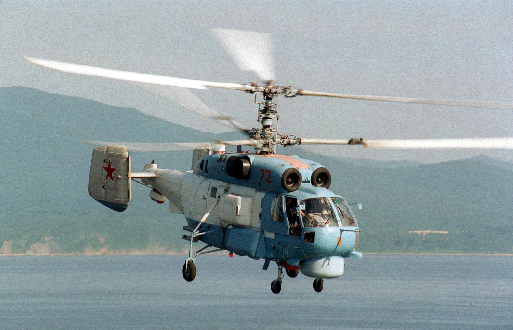 Вертолет Ка-27 Спираль