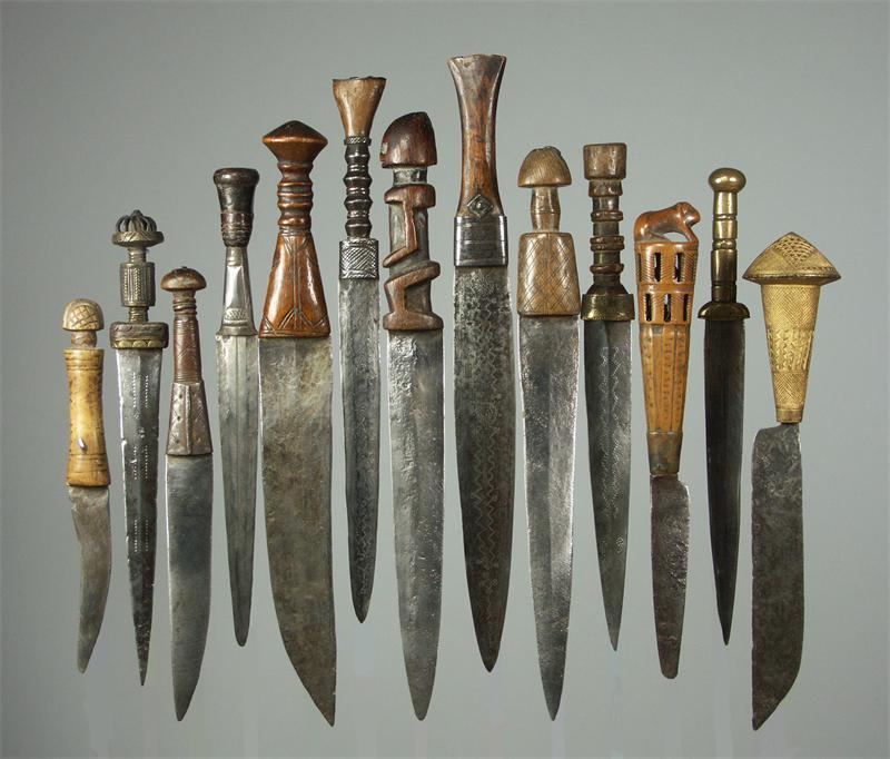 Виды боевых ножей