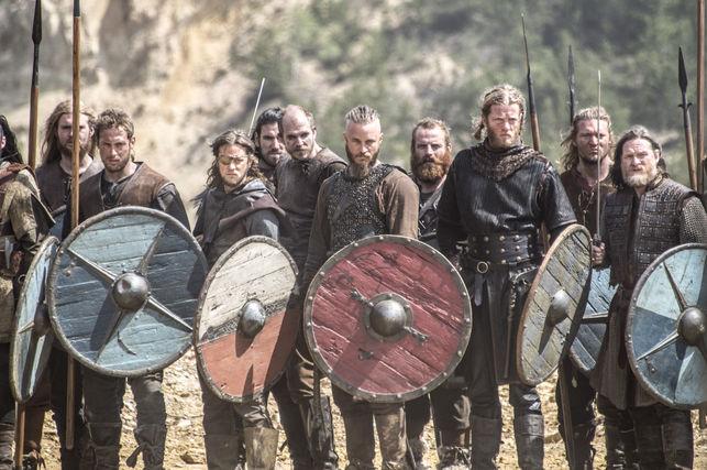 Военный строй викингов
