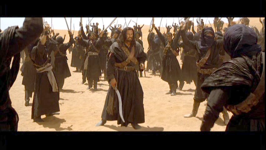 Воины с ятаганами