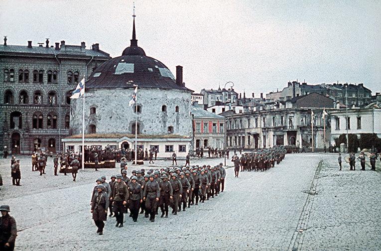 Войска Финляндии в 1941 году