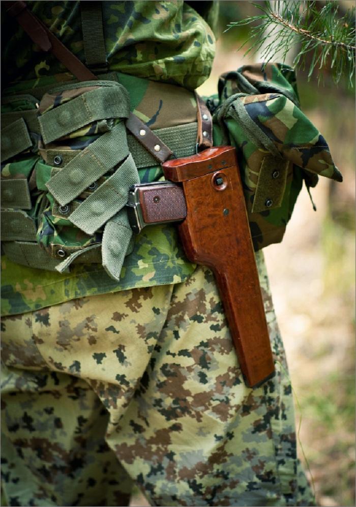 Вооружение спецназовца АПС