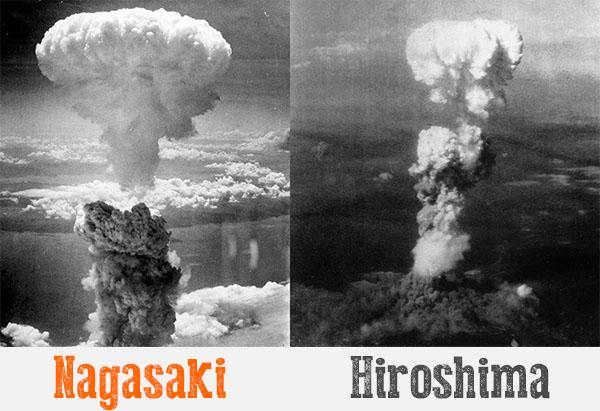 Взрыв в Хиросиме и Нагасаки