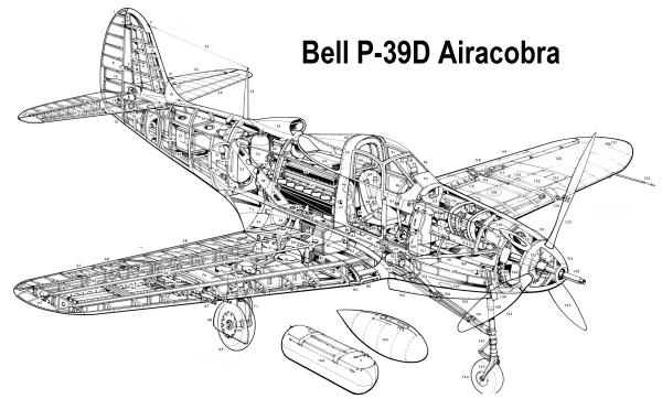 Аэрокобра схема