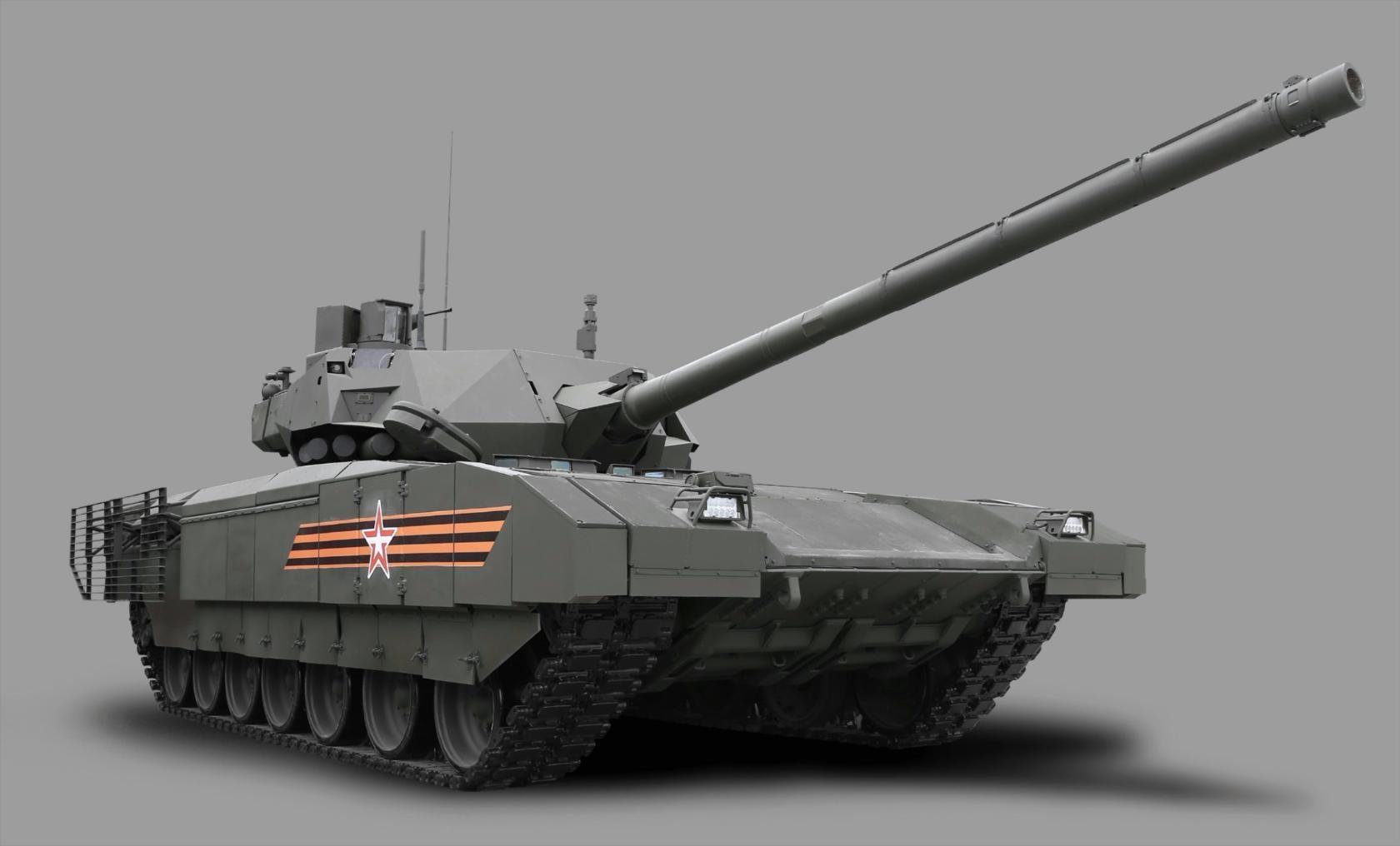 Армата - гордость российских танковых войск