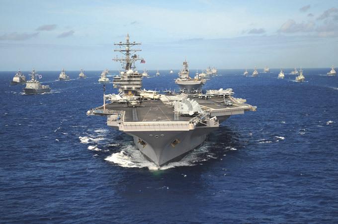 Атомные авианосцы США