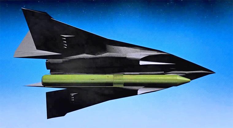 БПЛА Ю-71 с ядерной ракетой
