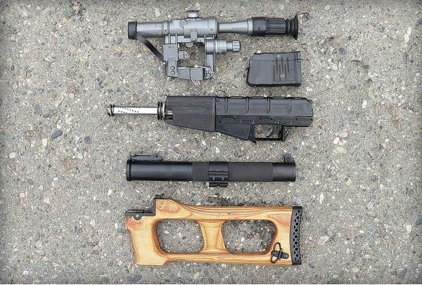 Части винтовки