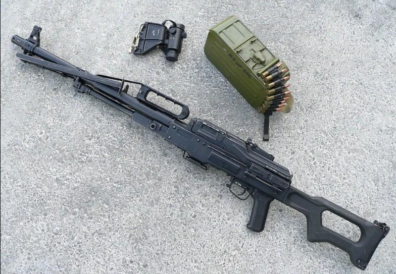 Комплектация пулемета