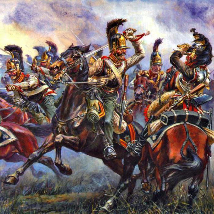Линейная конница в бою