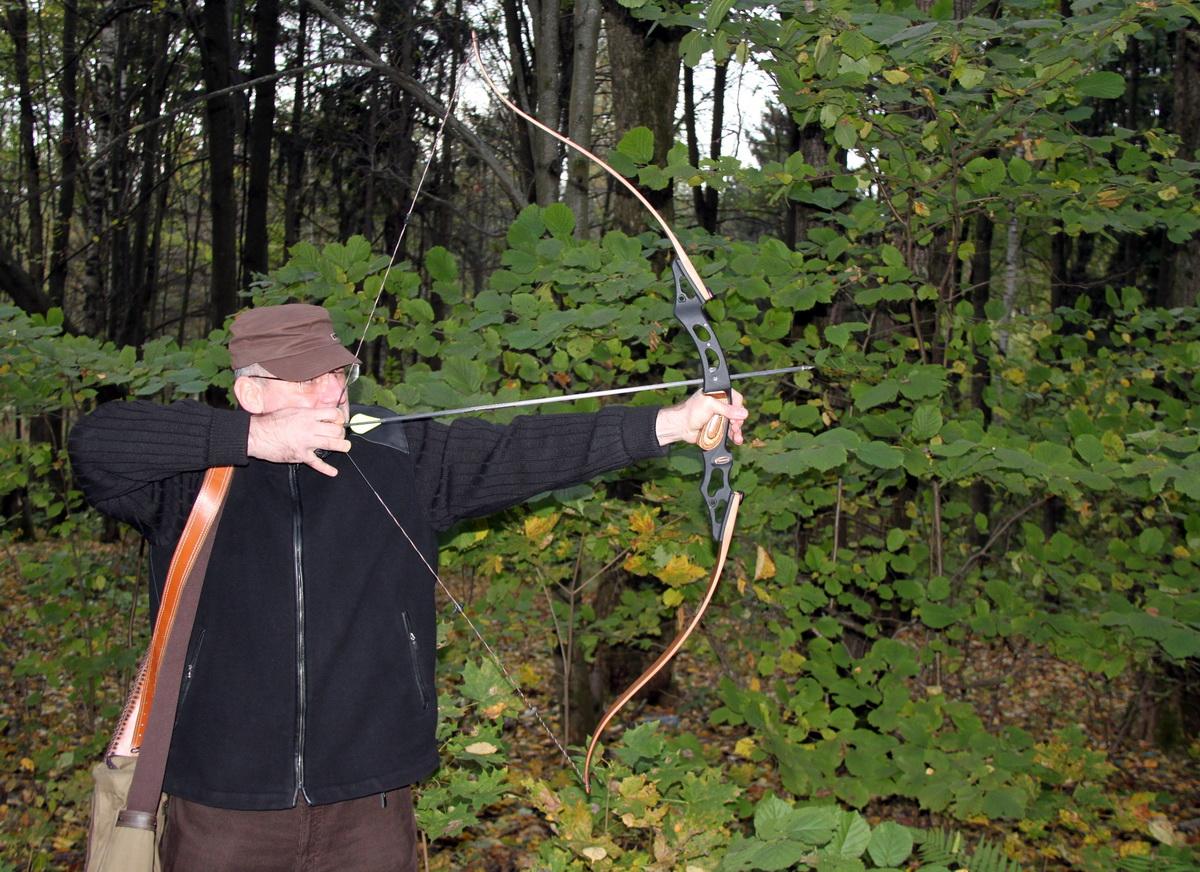Лучник в лесу