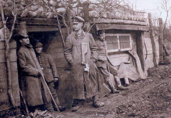 Маузер и немецкие офицеры