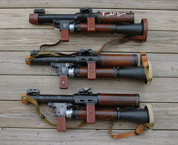 Модификации РПГ-7
